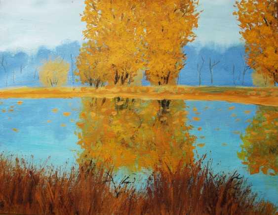 nino gudadze. Autumn Landscape - photo 1