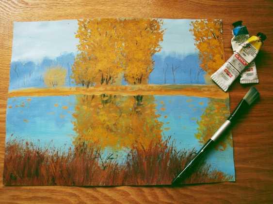 nino gudadze. Autumn Landscape - photo 2
