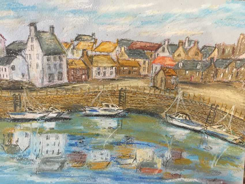 Renata Mantel. The harbour at Crail, Fife in Scotland - photo 1