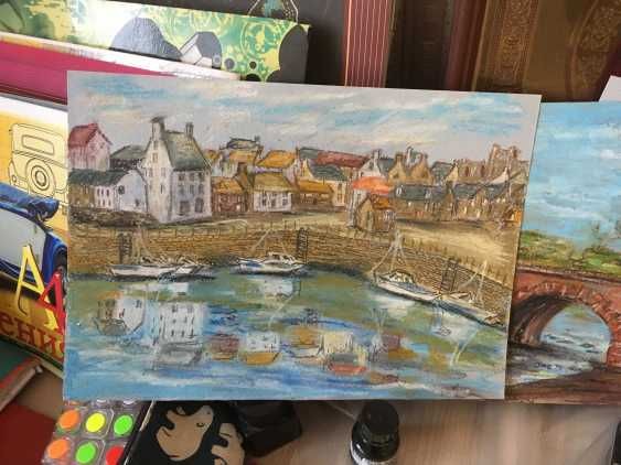 Renata Mantel. The harbour at Crail, Fife in Scotland - photo 3