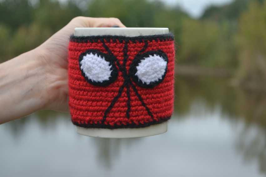 "Tanya Derksch. a warm Cup of ""Spiderman"" - photo 1"