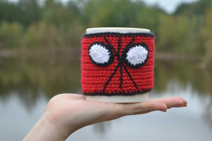 "Tanya Derksch. a warm Cup of ""Spiderman"" - photo 2"