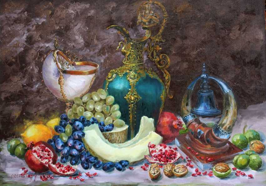 Elena Zorina. Still life with walnuts - photo 1