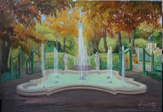 Alla Senatorova. Autumn 2018. Summer gardens, fountains. - photo 1