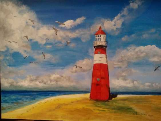 Irina Makovetskaya. The lighthouse is a symbol of hope - photo 1
