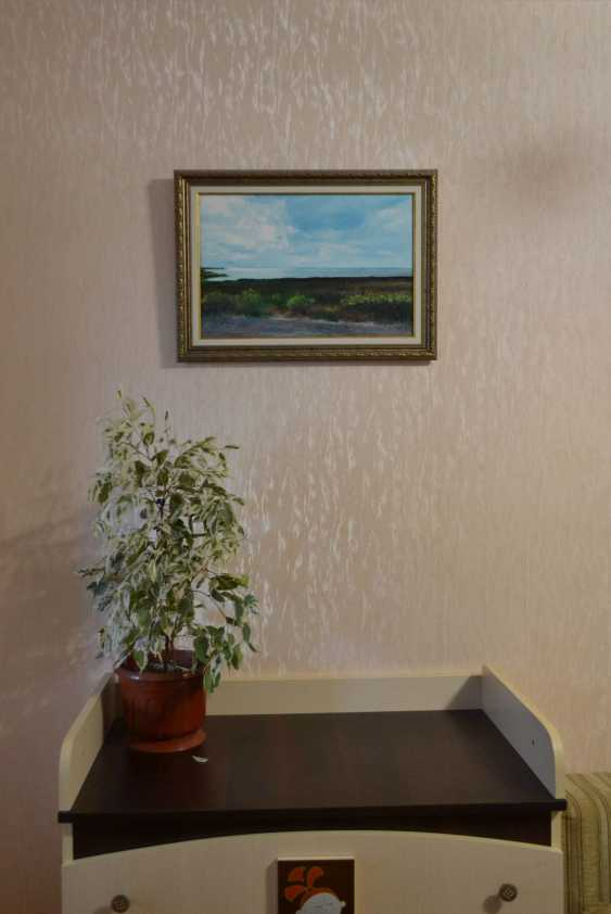 Ivan Ormanzhi. Original landscape painting oil on canvas, Azov Sea, Fedotova Foreland - photo 5