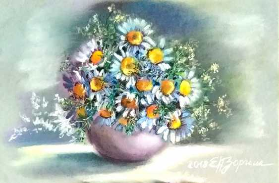 Elena Zorina. Daisies in a vase - photo 1