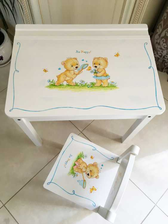 Irina Nevshupa. IKEA furniture with painting - photo 3