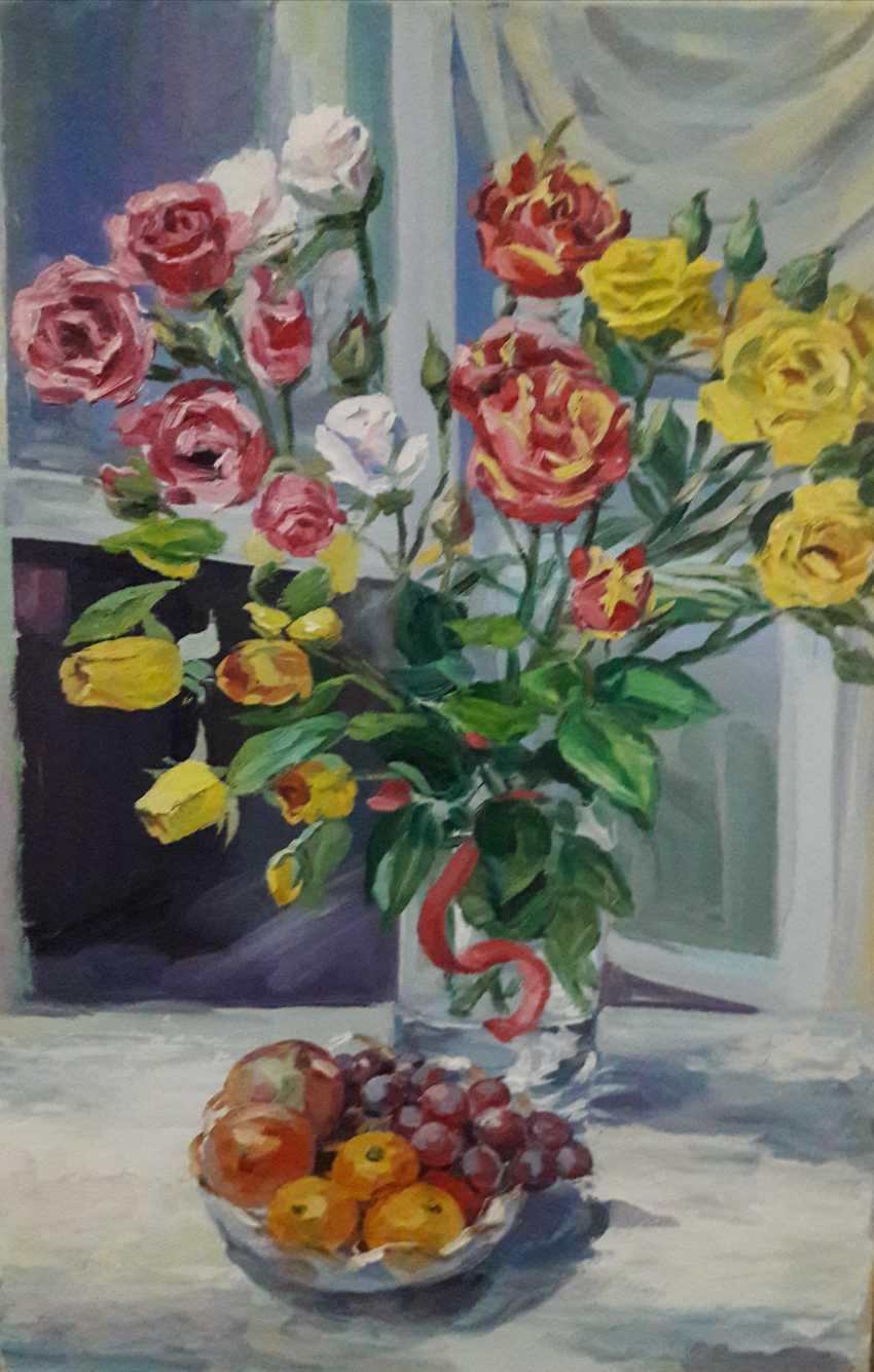 Meiram Abdullaev. Flowers - photo 1