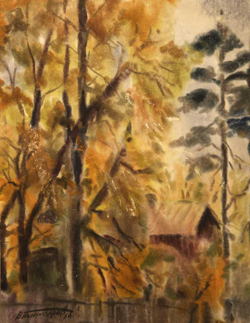 Vasiliy Ponikarov. Tree, fall /Autumn tree - photo 1