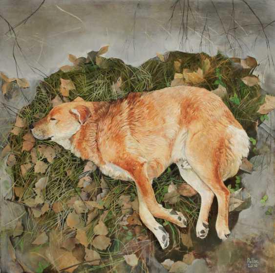 Полина Кузнецова. теплый собака - фото 1