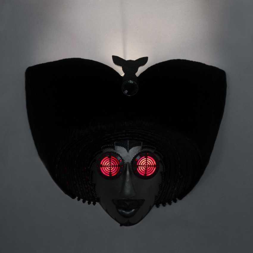 "Vladimir Shuvalgin. ""Night huntress"" wall lamp - photo 4"
