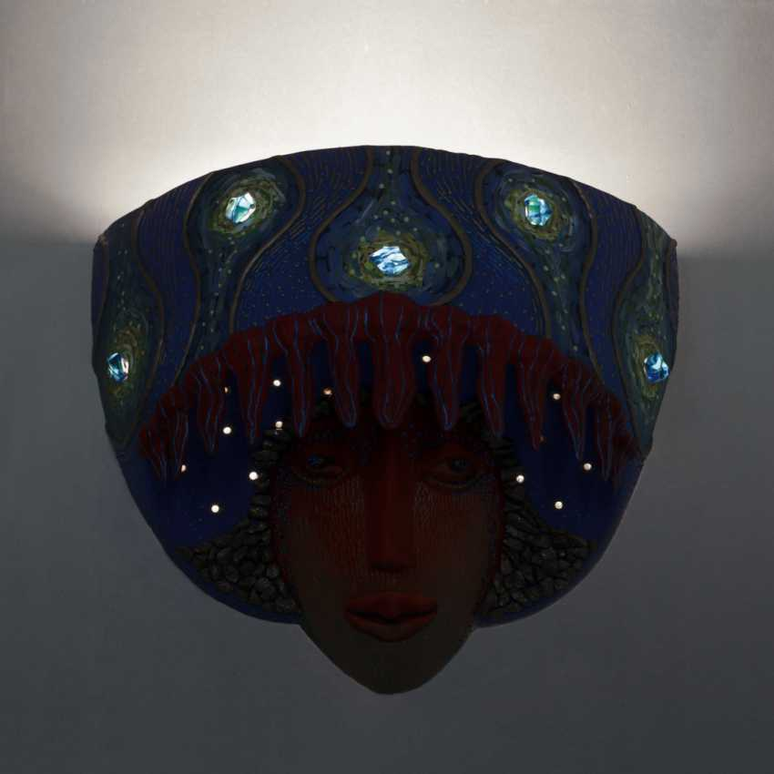 """Vladimir Shuvalgin. """"In the night with Vincent"""" wall lamp - photo 4"""