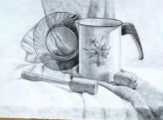 Tatiana Zorina. Still life with jug - photo 1