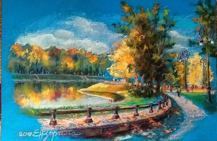 Elena Zorina. Autumn in the Park - photo 1
