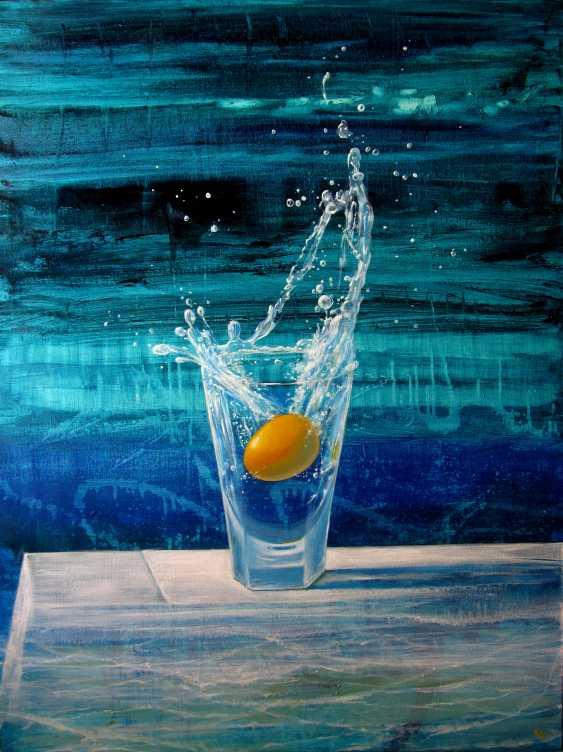 "Sergiy Roy. Cocktail "" Golden egg "" - photo 1"
