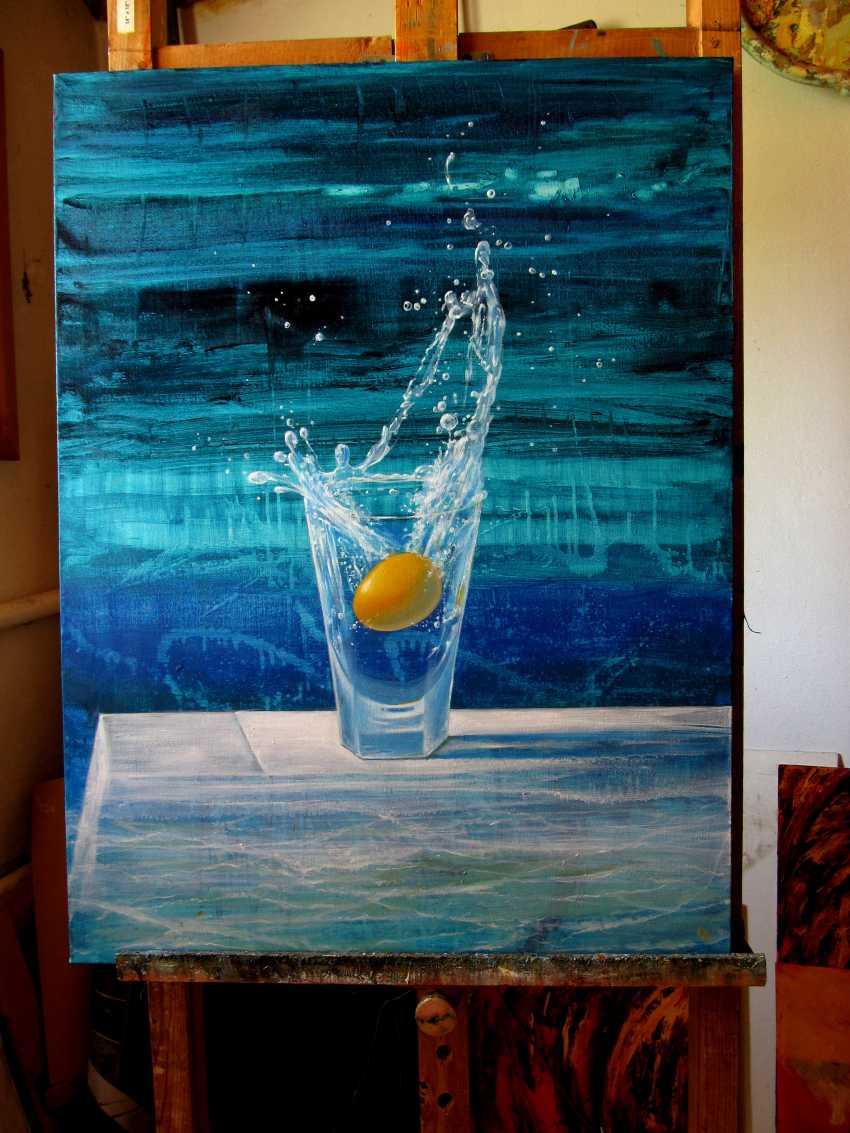 "Sergiy Roy. Cocktail "" Golden egg "" - photo 2"