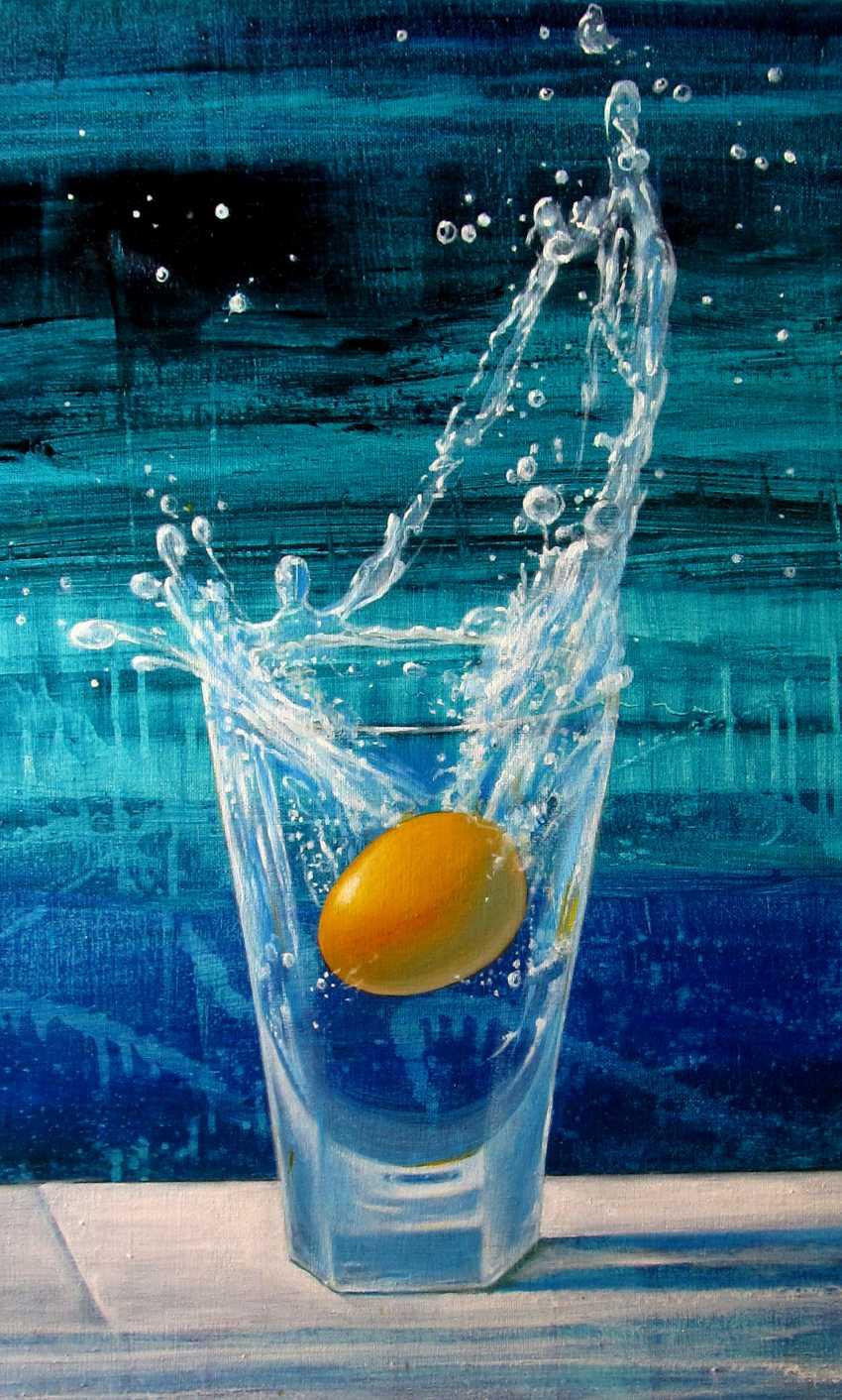 "Sergiy Roy. Cocktail "" Golden egg "" - photo 3"