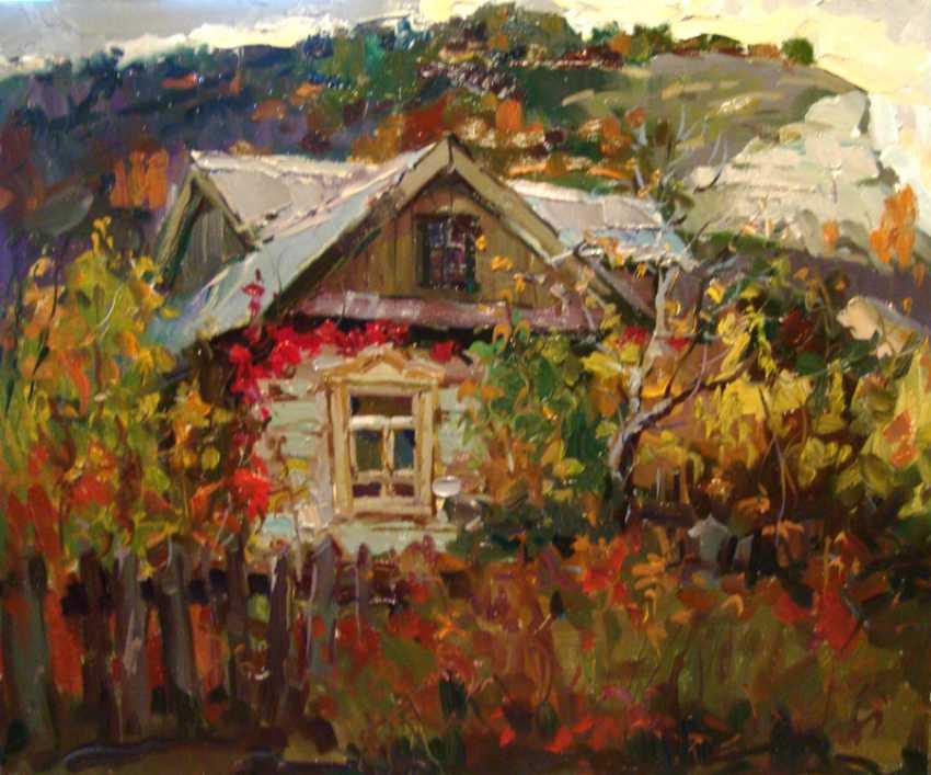 Andrey Mishagin. The window in autumn - photo 1