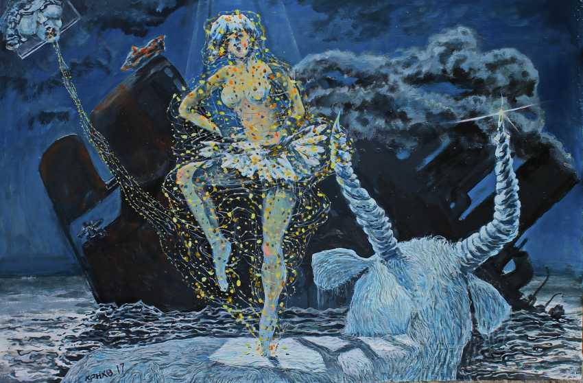lev karnaukhov. The fourth abduction of Europa - photo 1