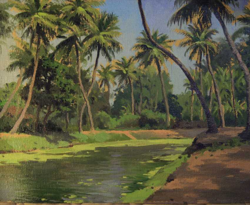 Oleg Pojidaev. Gardens of coconut palms in Puri, Orissa, India - photo 1