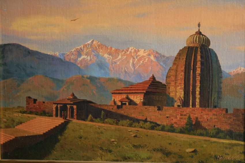 Oleg Pojidaev. Temple in the Himalayas, Himachal, India - photo 1