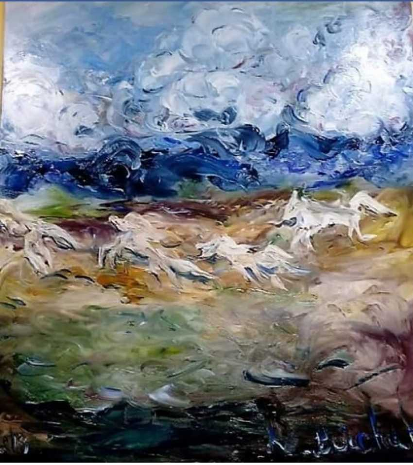 liudmila boichuk. Wild horses - photo 1