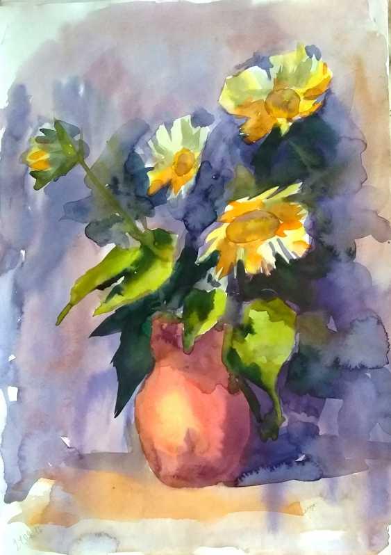 Tatiana Zorina. Sonnenblumen - Foto 1