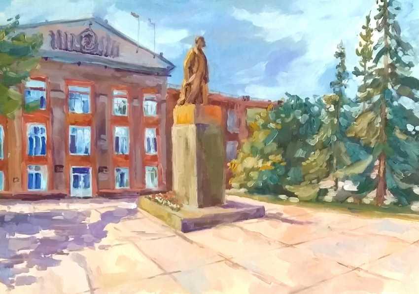 Tatiana Zorina. The Monument To Lenin - photo 1