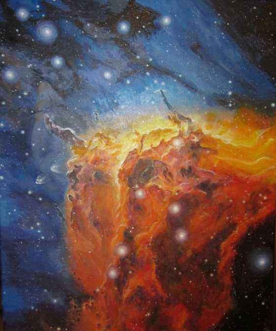 Ольга Присяжнюк. Космос. Вселенная. Туманность Пеликан - фото 1