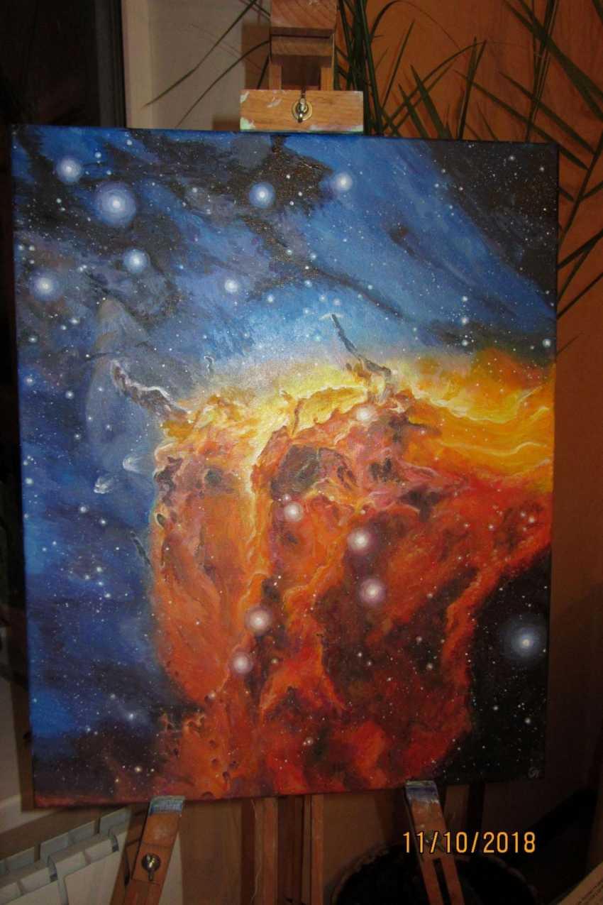 Ольга Присяжнюк. Космос. Вселенная. Туманность Пеликан - фото 2