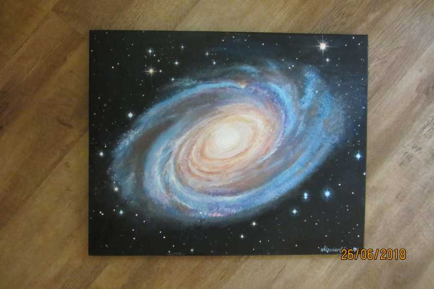 Olga Pris. Space. Universe. Bode's Galaxy M 81 - photo 1