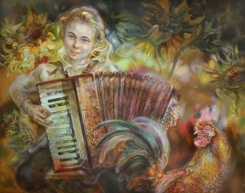 Vitsetskaya Sniazhana. Cockerel - photo 1