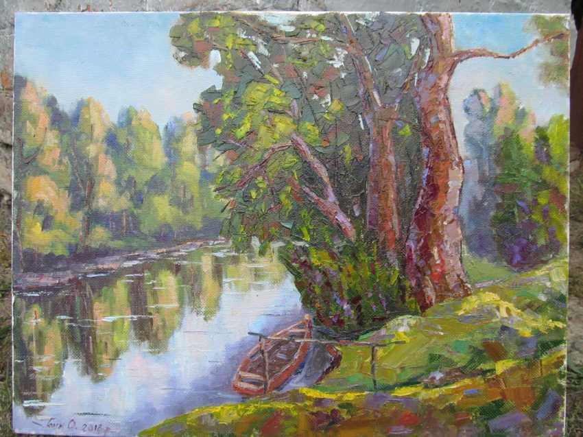 Aleksandr Golin. \Возле реки\ - Foto 1