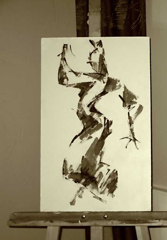 Pavel Sluzky. Flamenco. Sketch #2 - photo 1