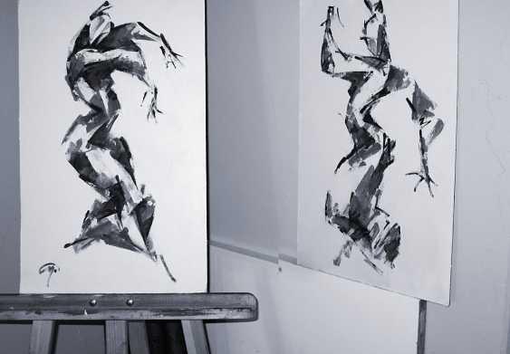 Pavel Sluzky. Flamenco. Sketch #2 - photo 2