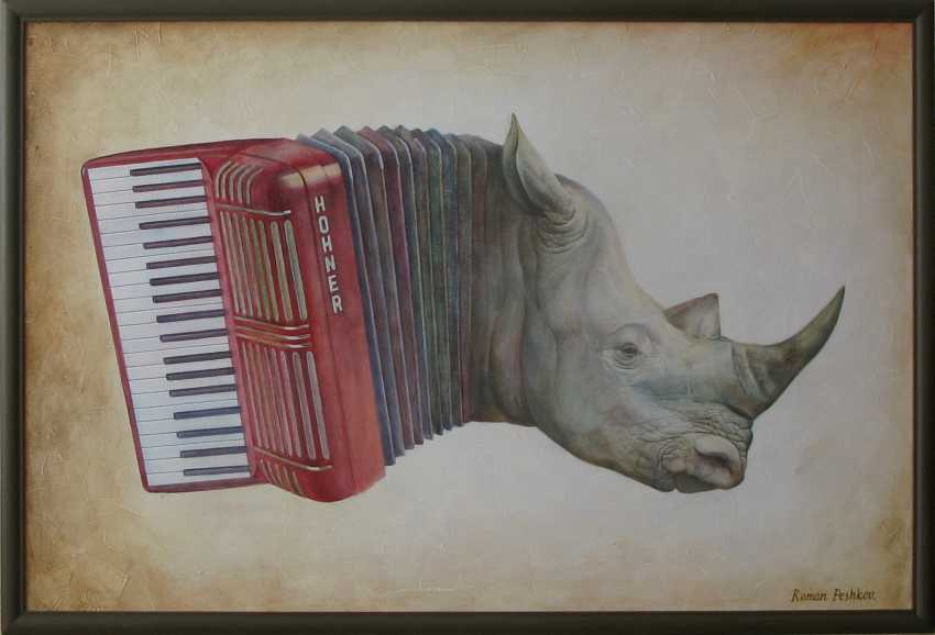 Roman Peshkov. African accordion - photo 1