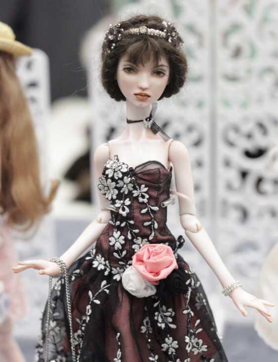 Larisa Nasanovich. Copyright jointed doll viola Molly - photo 1
