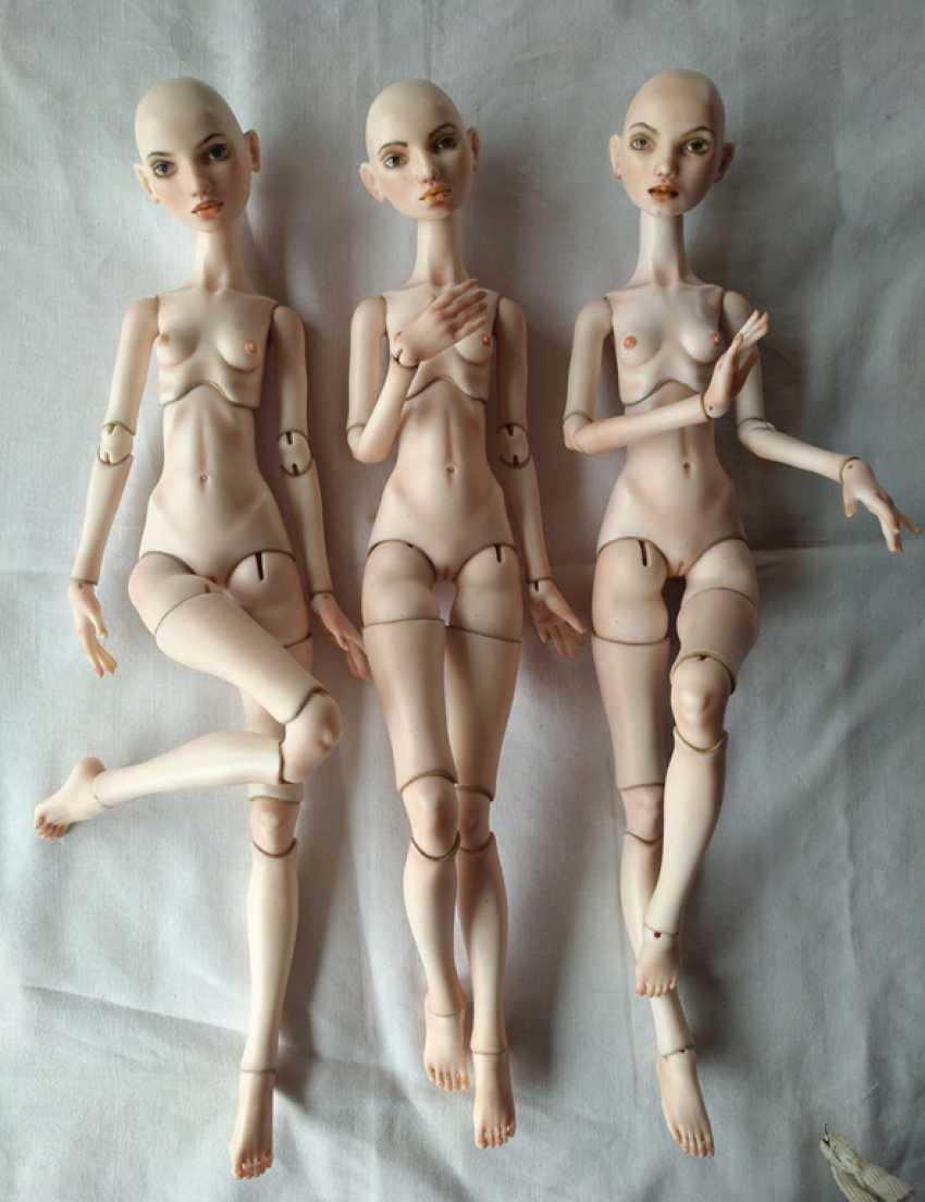 Larisa Nasanovich. Copyright jointed doll viola Molly - photo 2