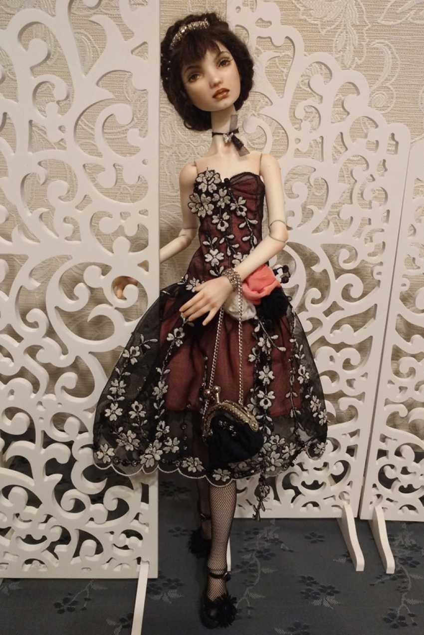 Larisa Nasanovich. Copyright jointed doll viola Molly - photo 3