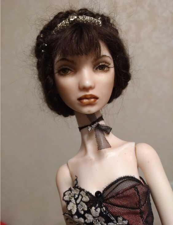 Larisa Nasanovich. Copyright jointed doll viola Molly - photo 4