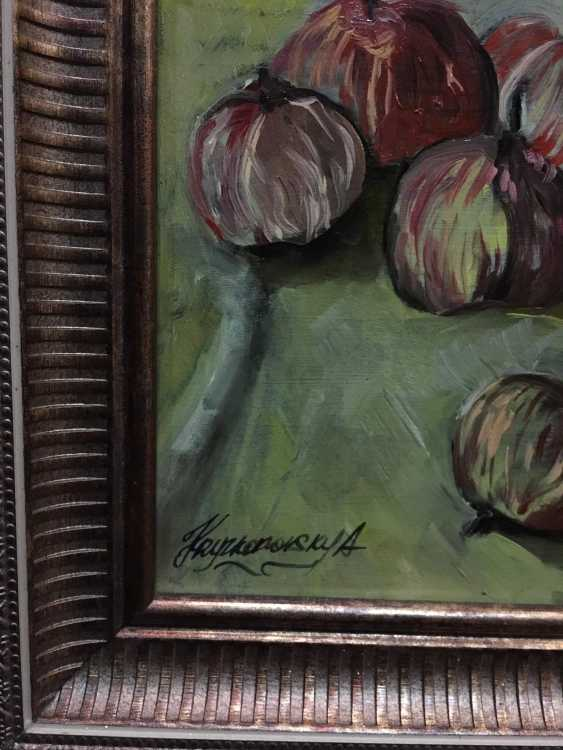 Alexander Kryzhanovsky. Still life with vase and apples - photo 2