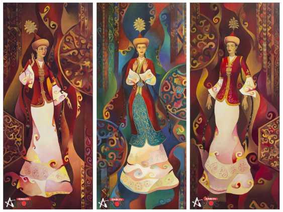 AIDOS BORIBAYEV. THREE GRACES! - photo 1