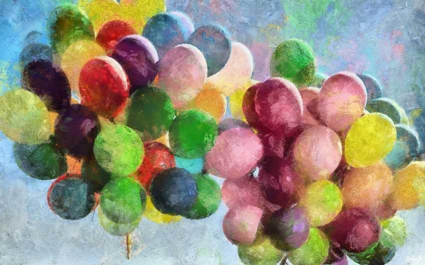 Mikhail Denysenko. Balloons. - photo 1