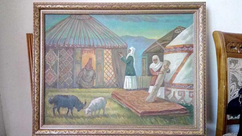 Mukhtar Syzdykov. Сбор юрты - photo 1