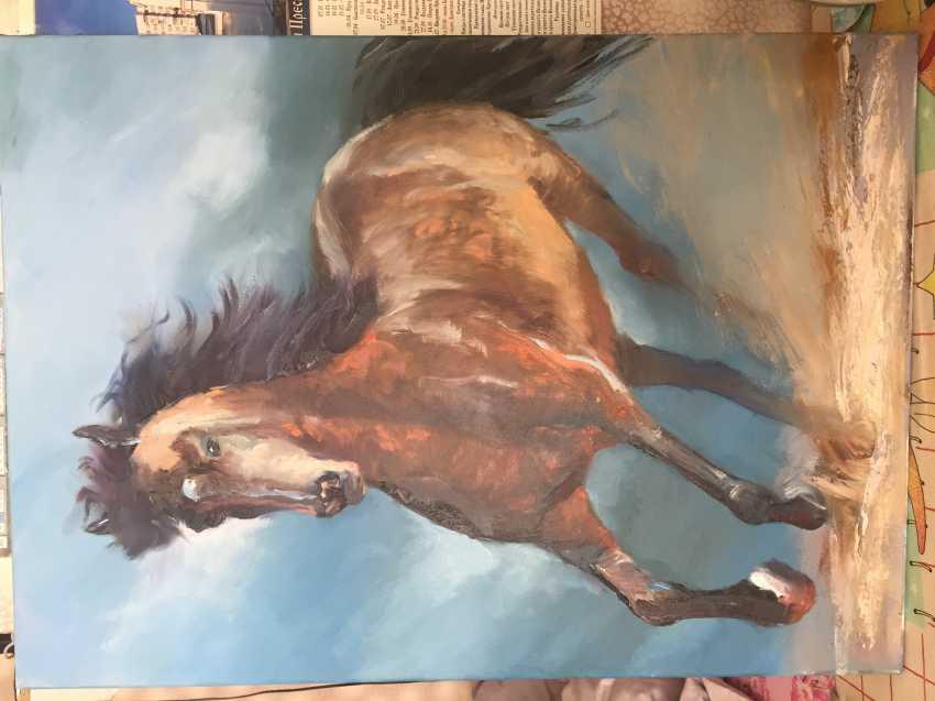 Antonina Zaharova. Horse - photo 1