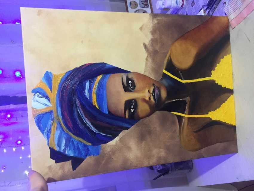 Antonina Zaharova. The woman in the turban - photo 2
