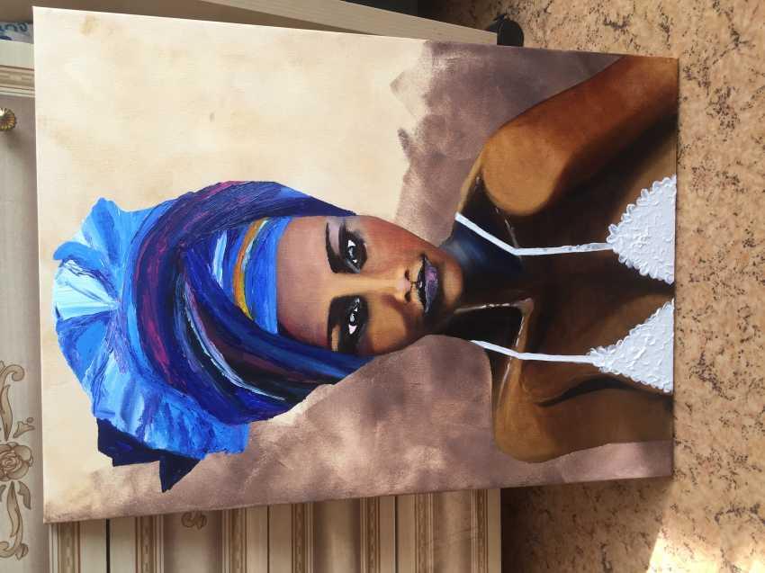Antonina Zaharova. The woman in the turban - photo 4
