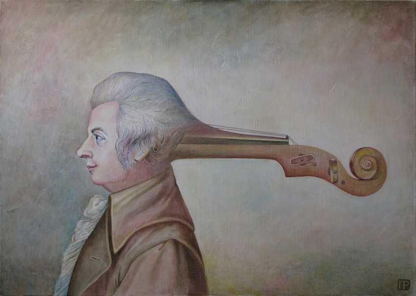Roman Peshkov. Portrait Of Mozart - photo 1