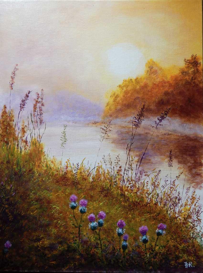 VASILIY KOLBASOV. Summer on the river - photo 1